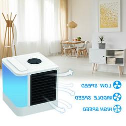 Space Air Cooler Portable Air Conditioner Fan Table Desk Coo