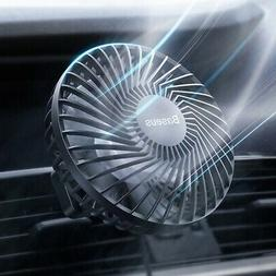 car fan cooler air conditioner vent rotating