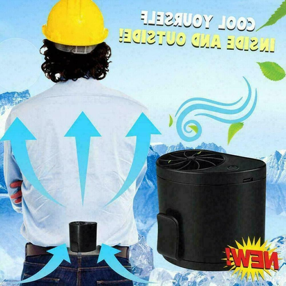 outdoor mobile air conditioning cooler usb waist
