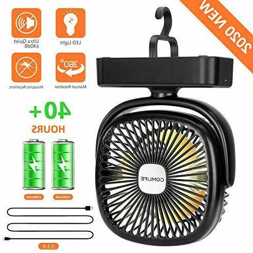 portable led camping lantern with battery powered