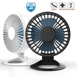Mini Desk Fan Cooler USB Strong Powered Portable Cooling Qui