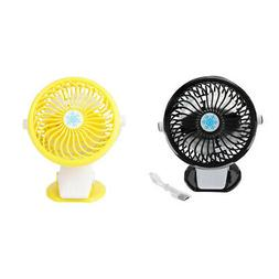 Mini Portable Silent USB Charge Fan Baby Carriage Desk Small