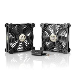 MULTIFAN S7, Quiet Dual 120mm USB Cooling Fan for Receiver D