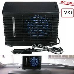 Portable 12V Air Cooler Car Air Conditioner, Cooling Fan Wat