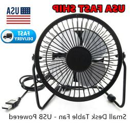 portable desk table cooling fan usb small