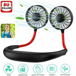 Portable Fan USB Rechargeable Neck Hanging Leisure Shopping