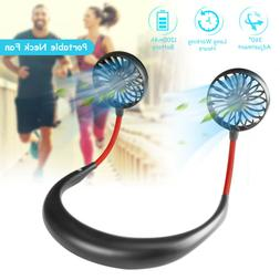 Portable USB Rechargeable Neckband Neck Hanging Personal Dua