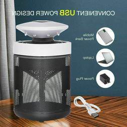 USB LED Inhaling Fan Fly Pest Bug Zappers Insect Zappers Mos