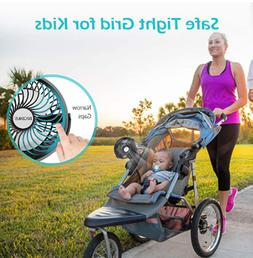 USB Powered Clip Fan for Baby Stroller Office Outdoor Travel